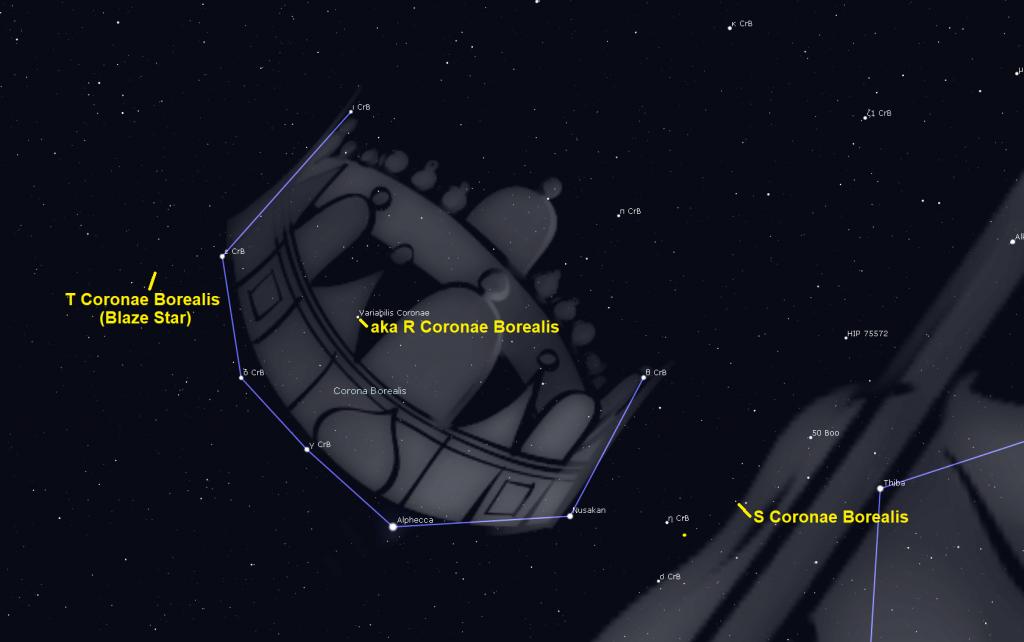 Corona Borealis Astrogeo